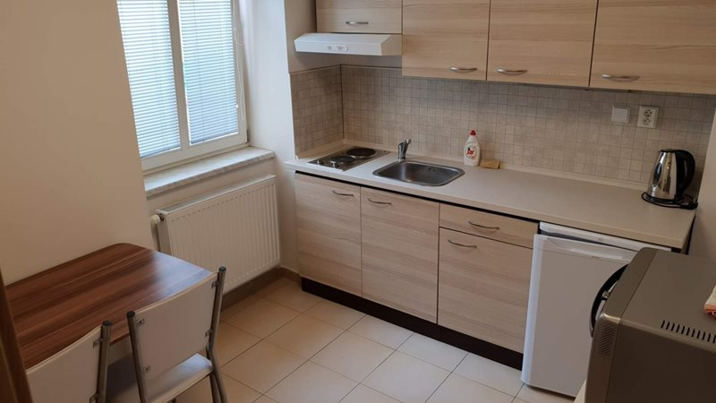 Stylish studio apartment in the centre of Brno (file kuchyn.jpg)
