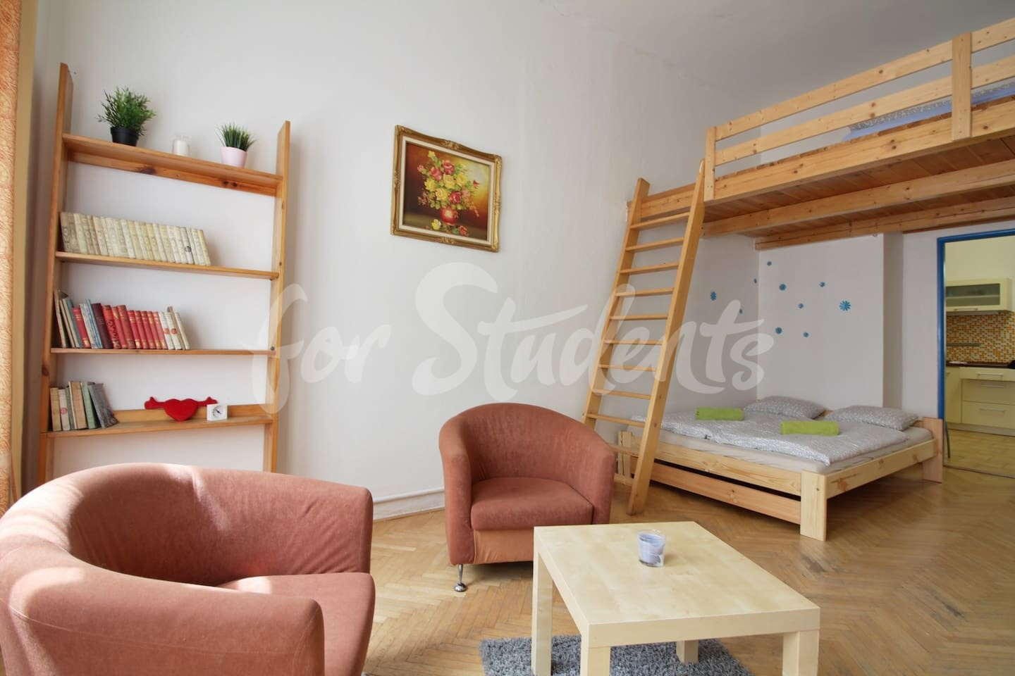 One bedroom apartment in Prague Žižkov