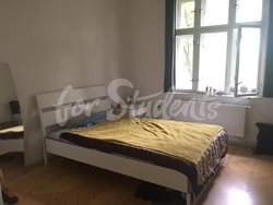 Spacious two bedroom apartment with a terrace, Prague - bedroom-1-2