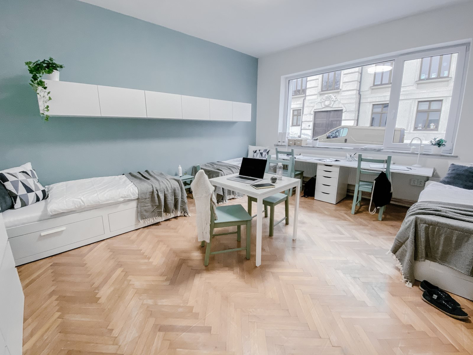 Very spacious triple room in boutique style house in Brno