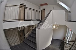 Spacious one bedroom apartment with balcony - schodiste