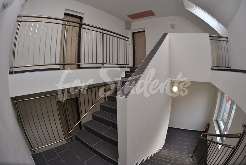 Spacious one bedroom apartment with balcony (file schodiste.jpg)