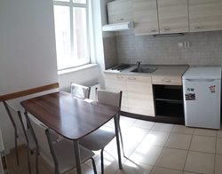 Place in a shared triple room in the city centre  - kuchyn