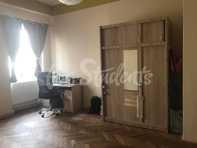 One bedroom in male two bedroom apartment in the Old Town (file 33583344_1328357410631427_1006700283612364800_n.jpg)