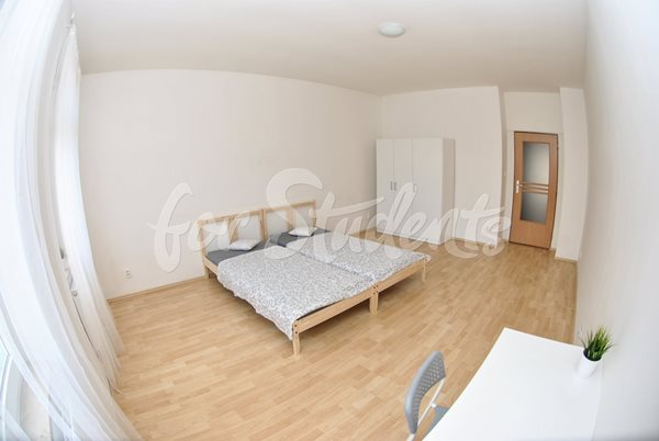 - Spacious room in a shared apartment