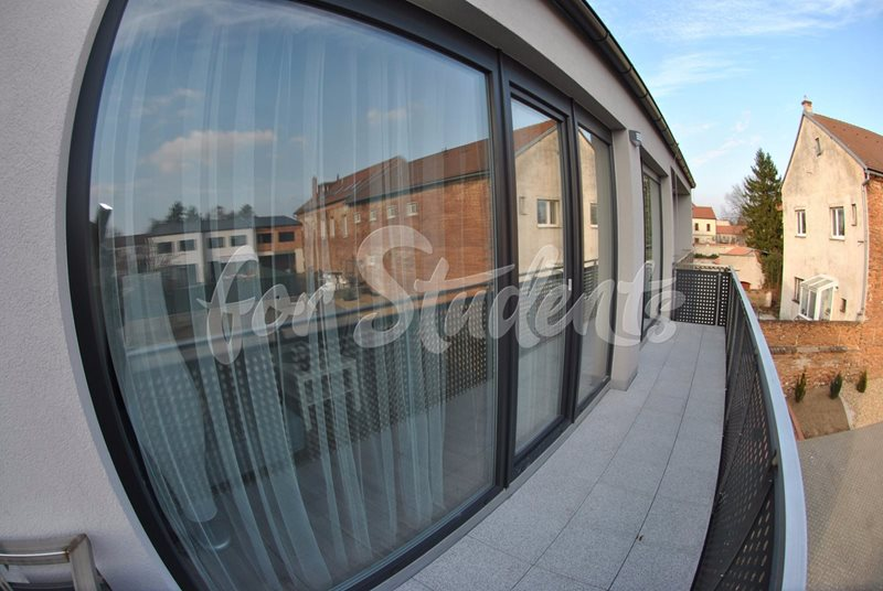 Spacious one bedroom apartment with balcony (file balkon.jpg)