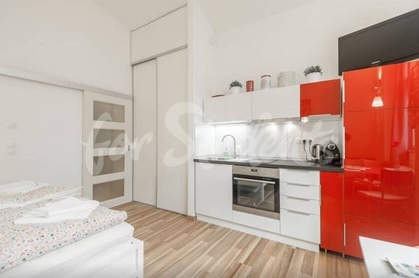 Modern studio apartment in New Town, Prague - P32/20