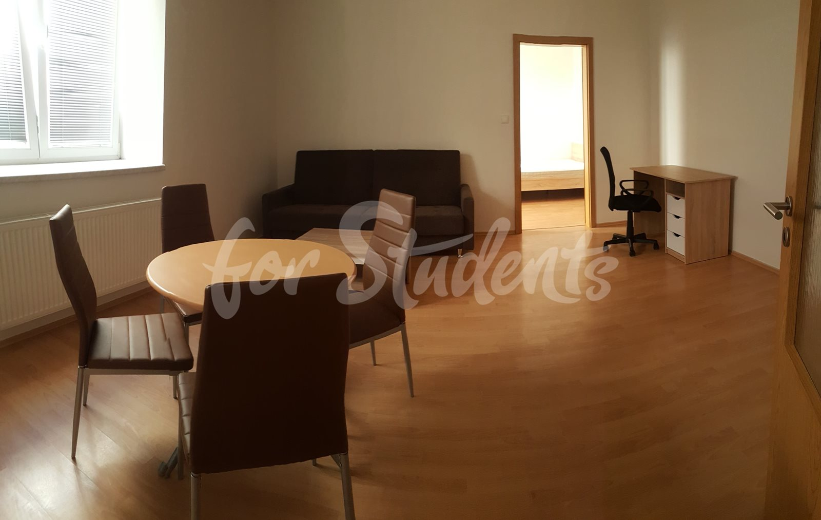 New spacious one bedroom apartment next to Atrium in new student´s residence