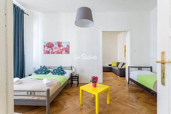 - Two bedrooms apartment