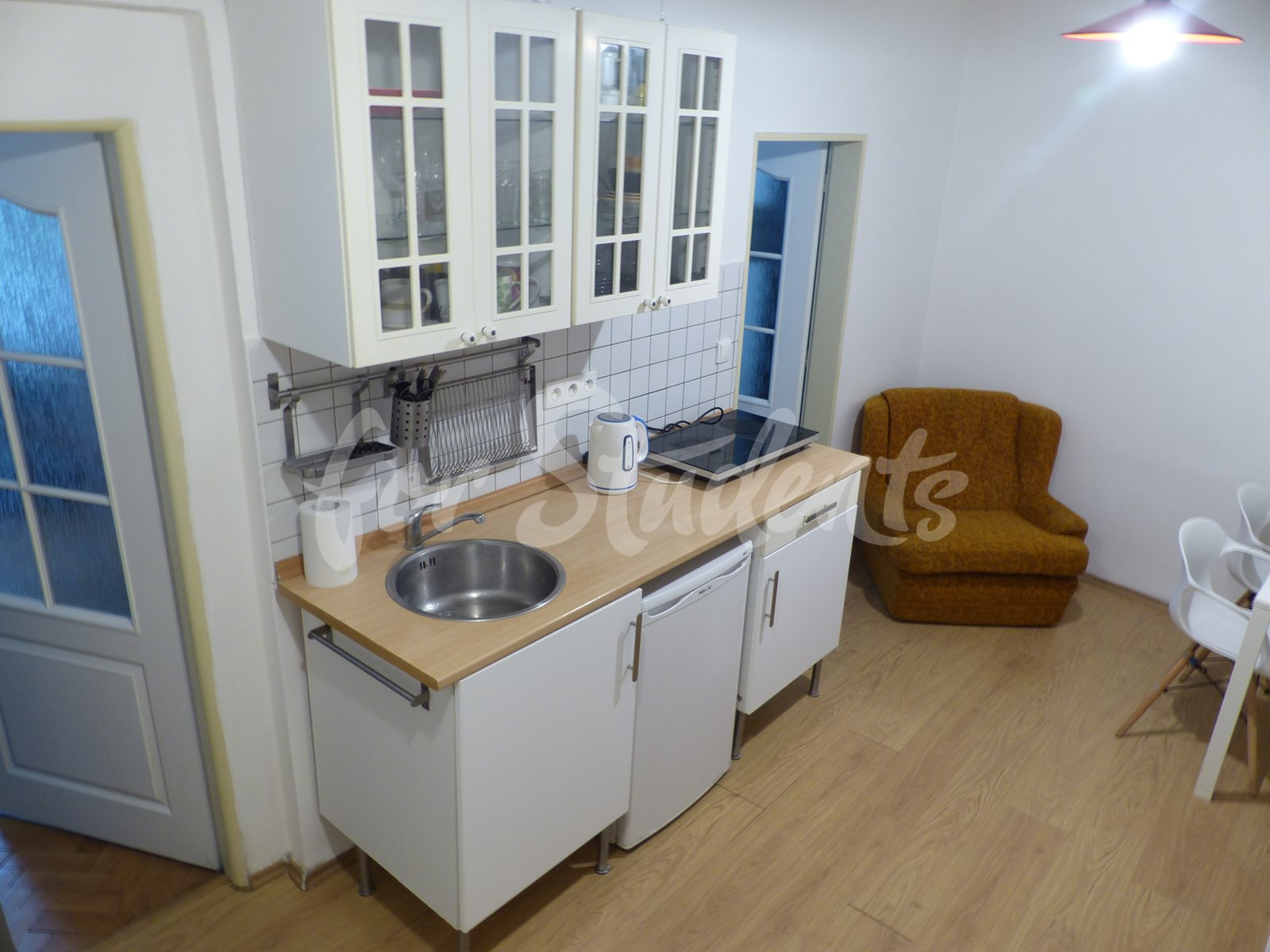 Two bedroom apartment in Prague 2 - Kateřinská street
