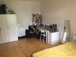 Spacious two bedroom apartment with a terrace, Prague - bedroom-1