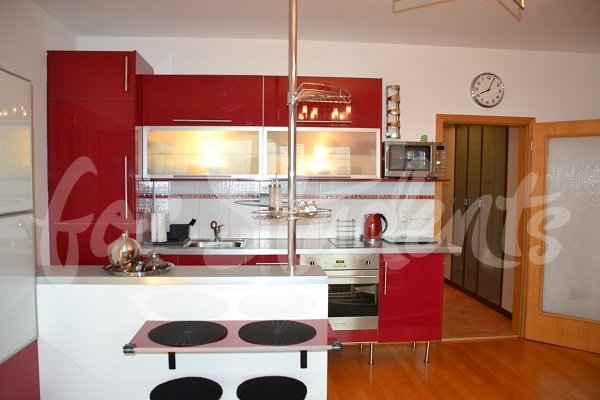 Spacious and modern studio apartment, Prague (file kitchen-I.jpg)