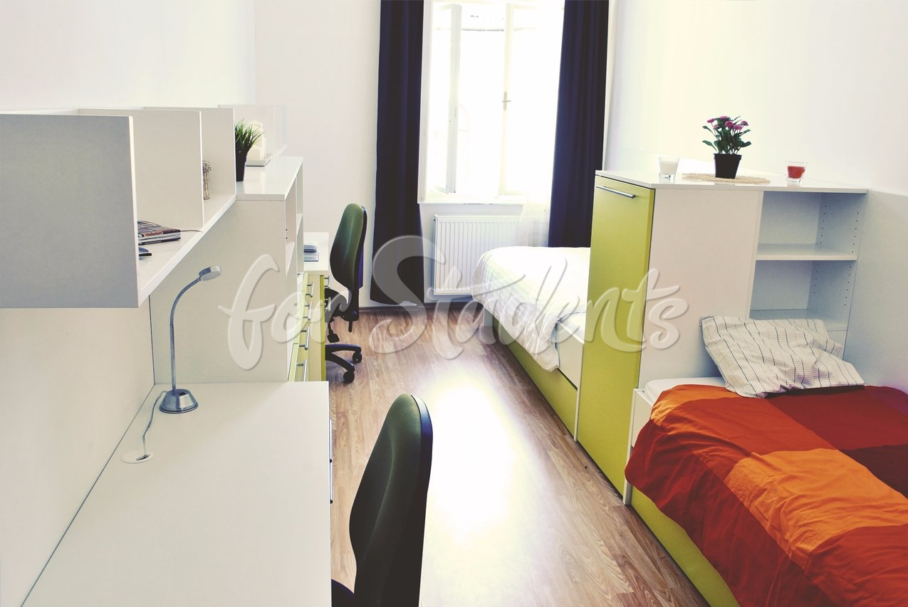 Modern shared accommodation for a girl, Brno
