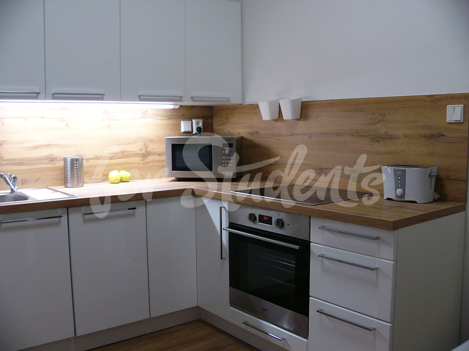 Newly reconstructed two bedroom apartment in New Town