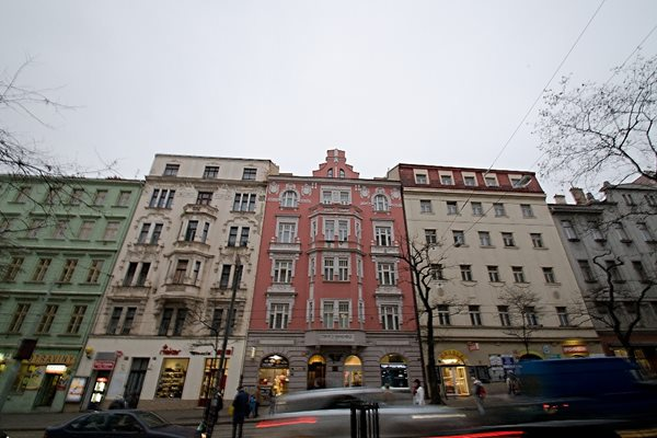 - Two bedroom flat in Prague 2