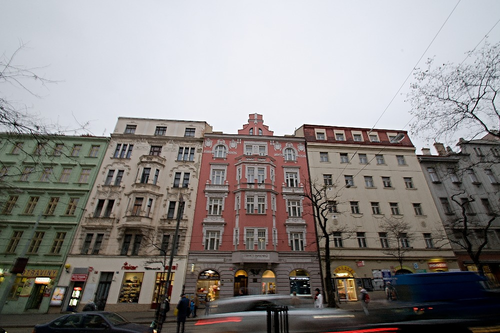 Two bedroom flat in Prague 2