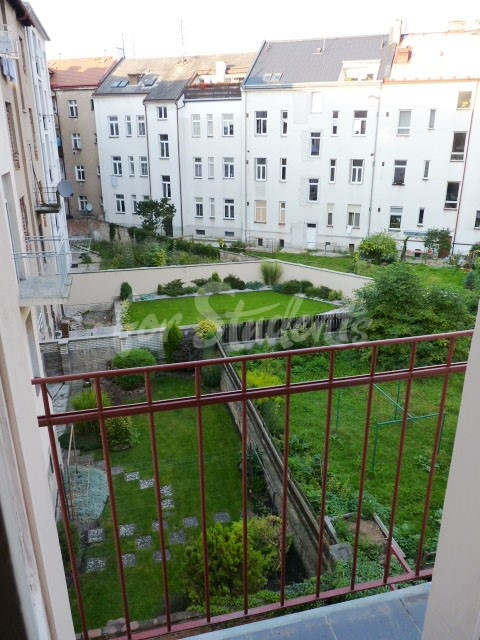 2 rooms available in female four bedroom apartment in the center of town (file view-from-kitchen.jpg)