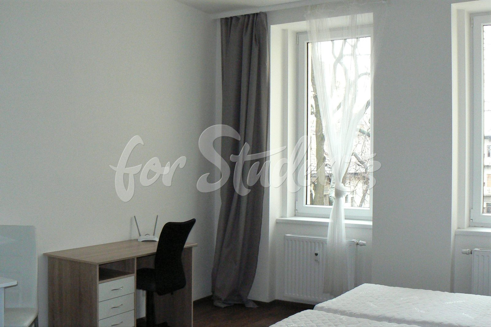 Spacious and well presented studio close to the centre of Brno