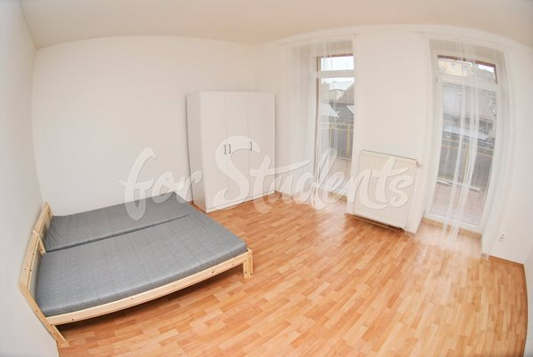 - Spacious room with balcony