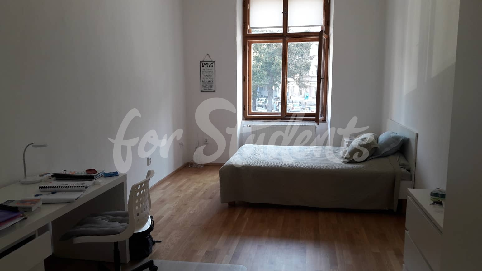 One room available in two bedroom apartment in student´s house near the Old Town, Hradec Králové