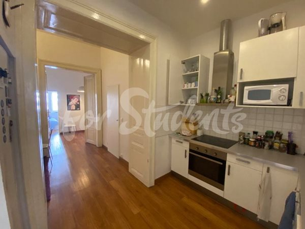 One bedroom in spacious four bedroom apartment available, Prague 1 - RP10