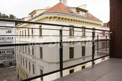 Luxurious studio apartment in the centre of Brno - balkon
