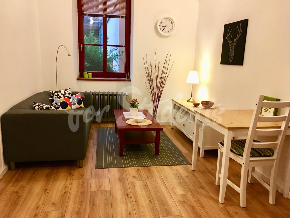 One bedroom apartment available in Old Town, Hradec Králové