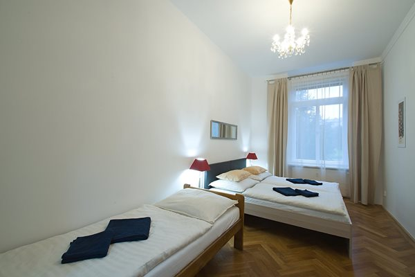 - Three bedrooms apartment