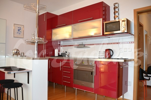 Spacious and modern studio apartment, Prague (file kitchen.jpg)