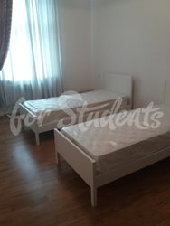 Three bedroom apartment in Prague 2 - 1st-bedroom-I