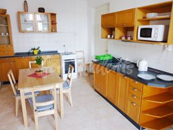 2 rooms available in female four bedroom apartment in the center of town - kitchen-and-dining-room