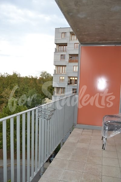 Spacious and modern studio apartment, Prague (file balcony-I.jpg)