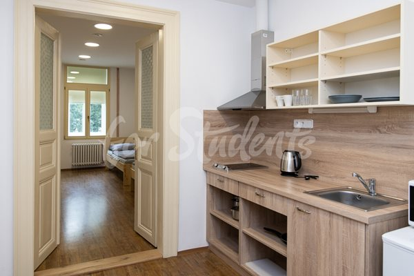 Double rooms with shared kitchen and bathroom in Plzeňská Campus, Prague - RP5/21